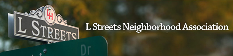 L Streets Neighborhood Association Masthead
